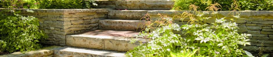 steps, paving and walls in london, brighton, sussex