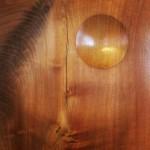 Barbara Hepworth wood sculpture