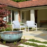 picture of an inner courtyard garden space
